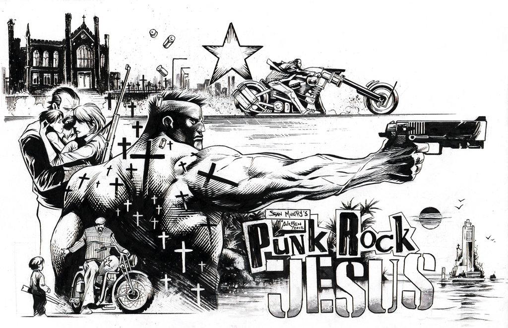 "Graphic Novel Review of ""Punk Rock Jesus"" by Sean GordonMurphy"